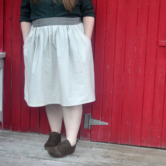 Meadow Skirt - PDF digital sewing pattern by Twig + Tale 13