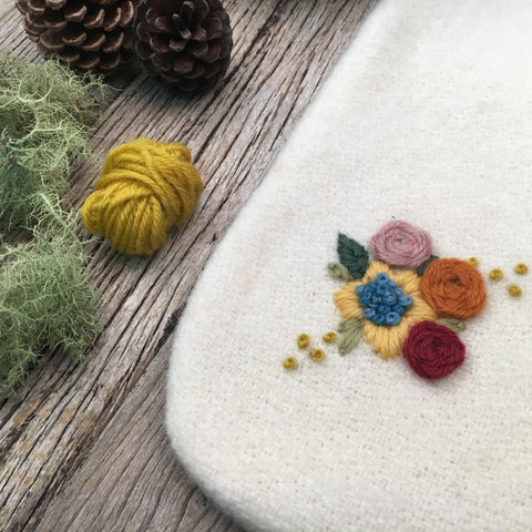 Garden Posy Embroidery Bundle