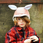 Boys - Hats evergreen bonnet fox hat digital PDF sewing pattern by Twig + Tale