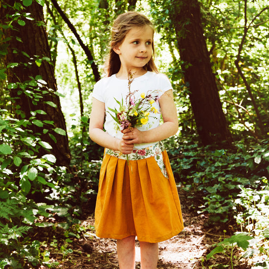 Meadow skirt digital sewing pattern by Twig and Tale 5