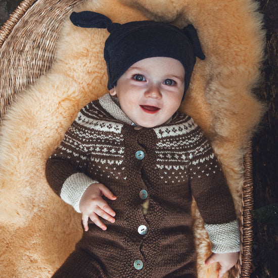 Children Sweet Baby hat sewing pattern by Twig + Tale
