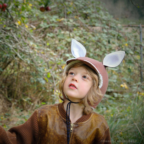 evergreen animal bonnet digital PDF sewing pattern by Twig + Tale 2