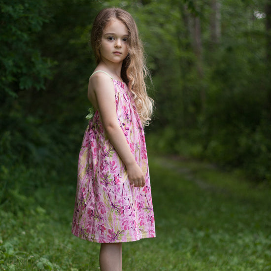 Barefoot Dress PDF digital sewing pattern by Twig + Tale 10