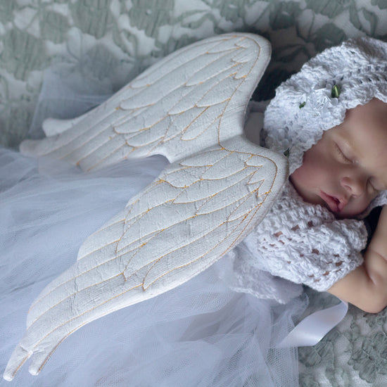 babies - angel wings newborn photography prop pdf sewing pattern by twig + tale