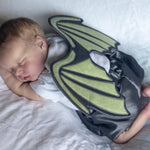 Baby - Animal - Dragon wings newborn photography prop pdf sewing pattern by twig + tale