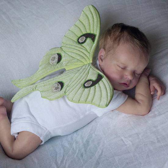 babies - luna wings newborn photography prop pdf sewing pattern by twig + tale