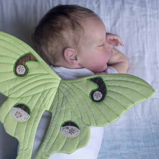 luna wings newborn photography prop pdf sewing pattern by twig + tale