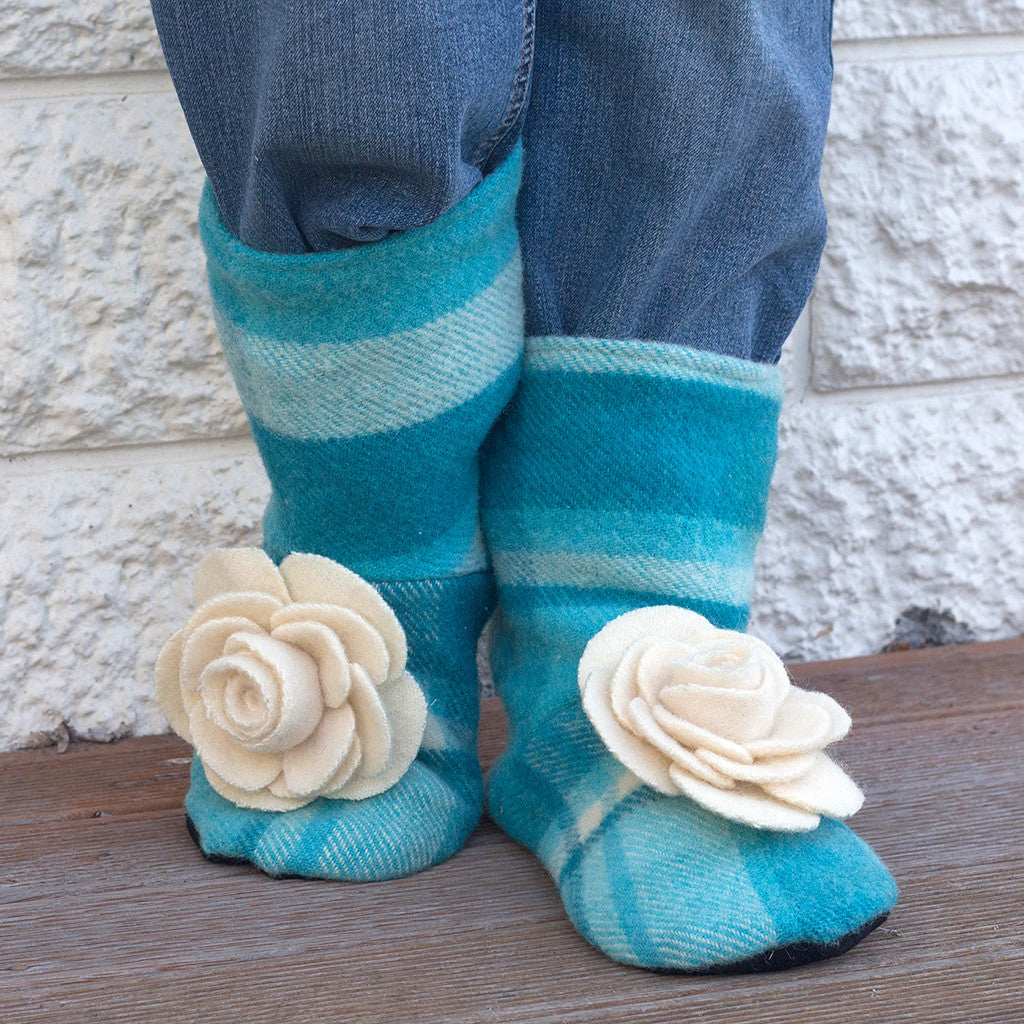 Tie Back Boots - Adult sizes - PDF digital sewing pattern by Twig + Tale  16