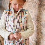 children's trailblazer vest pdf digital sewing pattern by Twig and Tale