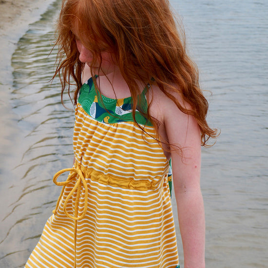 Barefoot Dress PDF digital sewing pattern by Twig + Tale 12
