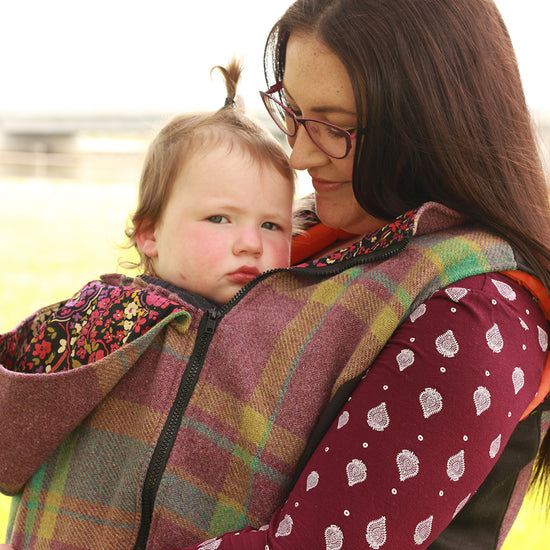 Nestledown Babywearing Vest for Women PDF sewing pattern by Twig + Tale 8