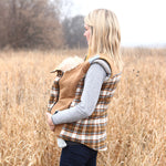 Nestledown Babywearing Vest for Women PDF sewing pattern by Twig + Tale 4