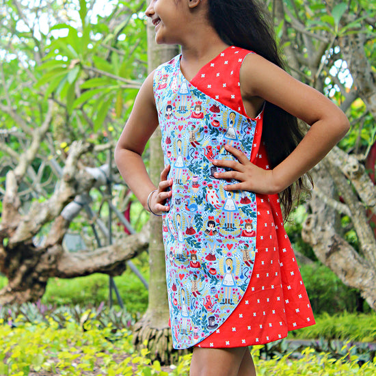 Petal Wrap Dress + Tunic digital sewing pattern by Twig and Tale 8