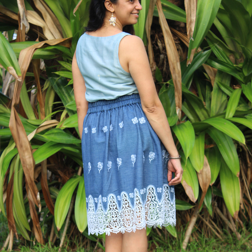 Meadow Skirt - PDF digital sewing pattern by Twig + Tale 14