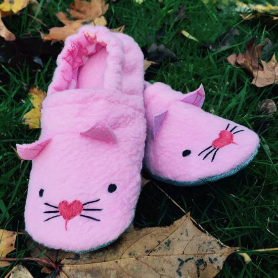 Animal Themed Slippers - Twig + Tale  - Digital PDF sewing pattern 4