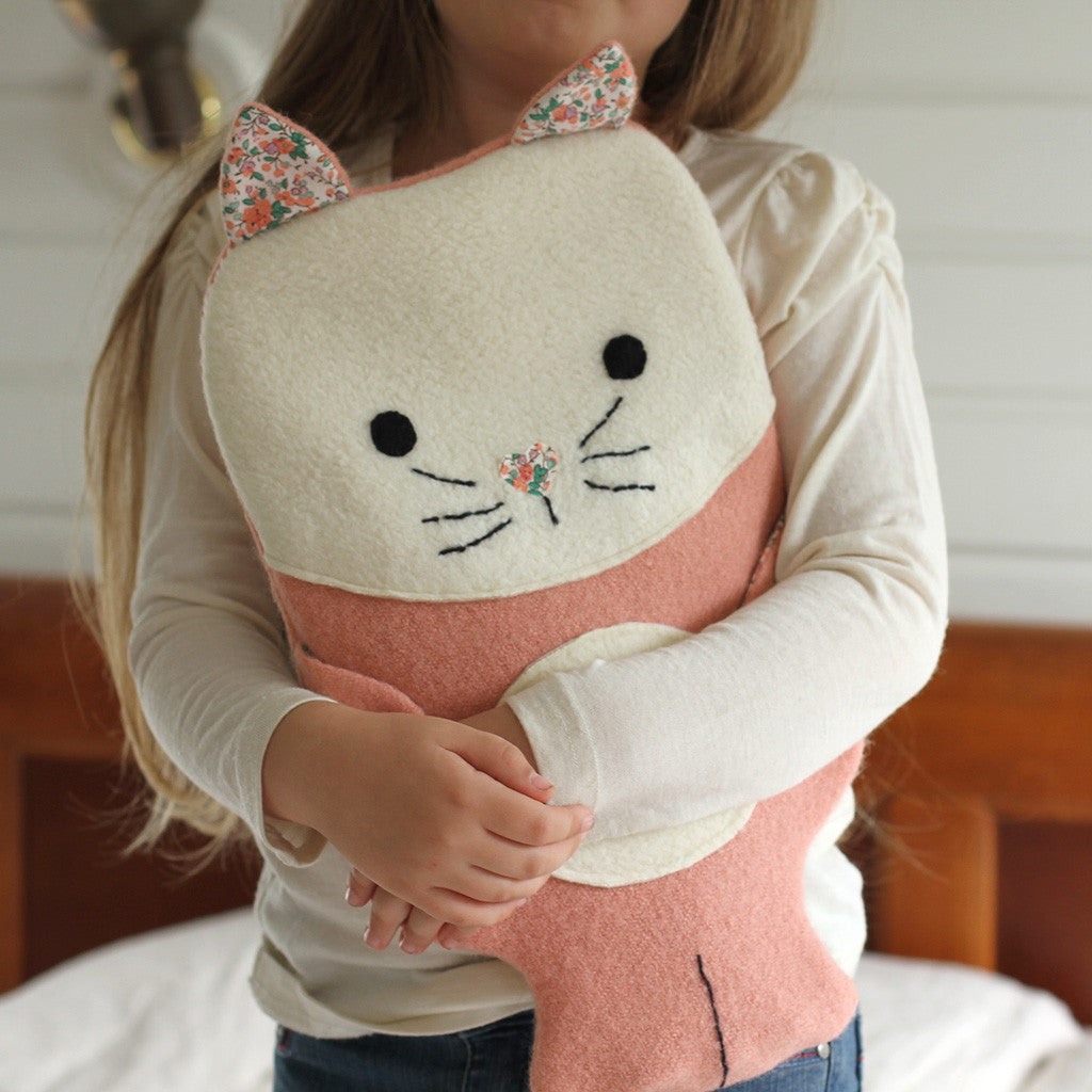 Animal Themed Hot water bottle covers -Twig + Tale - Digital PDF sewing pattern 2