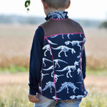 children's trailblazer vest pdf digital sewing pattern by Twig and Tale 5