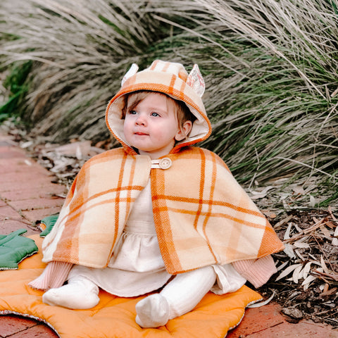 Baby - Animal Cape - PDF sewing pattern by Twig + Tale