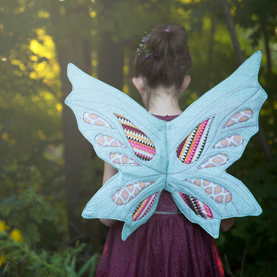 Woodland Sprite Fairy wings - PDF digital sewing pattern by Twig and Tale 6