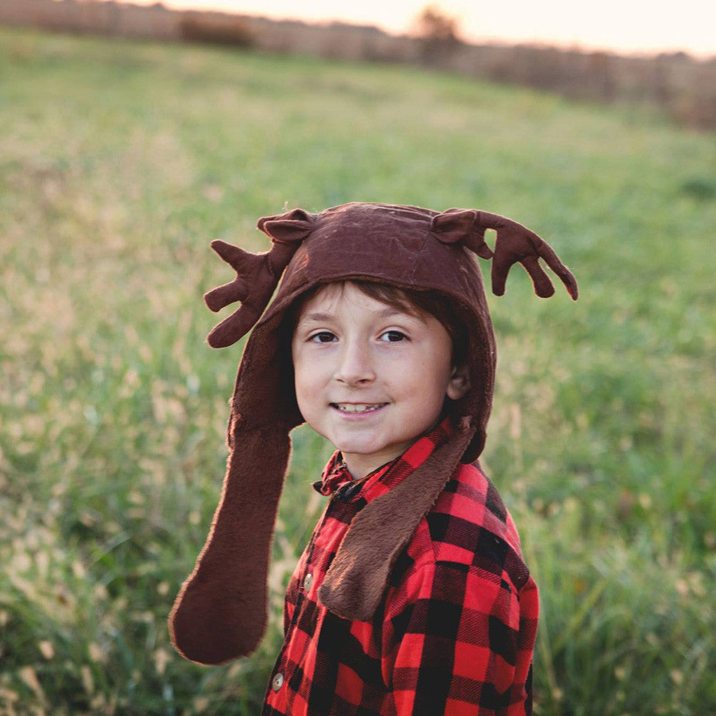 Boys - Hats Reindeer Add-on PDF digital sewing pattern by Twig + Tale