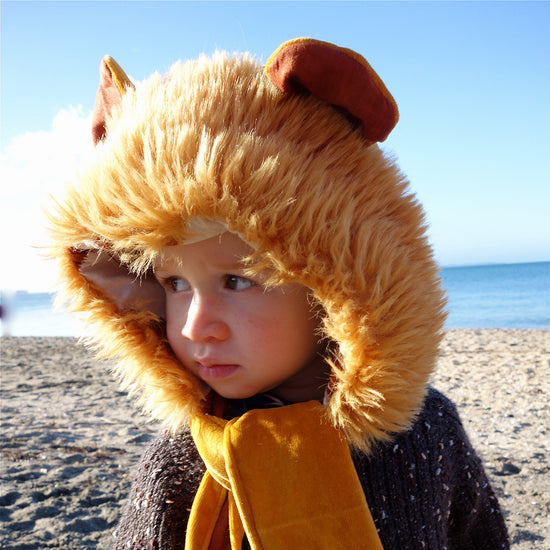 Animal themed Hooded Scarf + Tails - Twig + Tale  - Digital PDF sewing pattern - 6