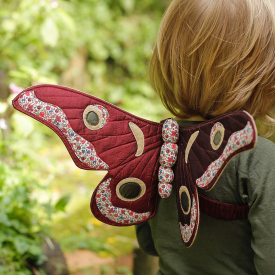 Gum Emperor Butterfly Wings Sewing Pattern - Twig and Tale - PDF digital download 9