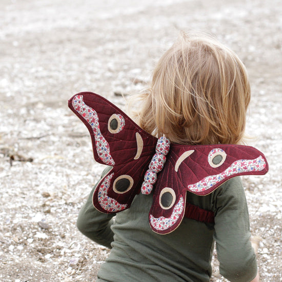 Gum Emperor Butterfly Wings Sewing Pattern - Twig and Tale - PDF digital download 3