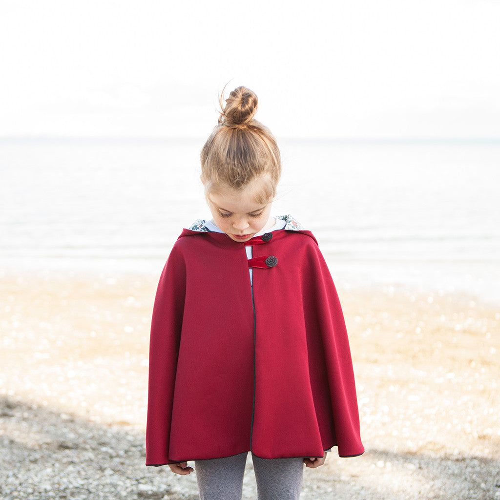 Little Red Riding Hood Cape - Twig + Tale  - Digital PDF Download - 4