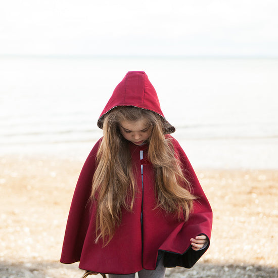 Traveller Cape - PDF digital sewing pattern by Twig + Tale - 8