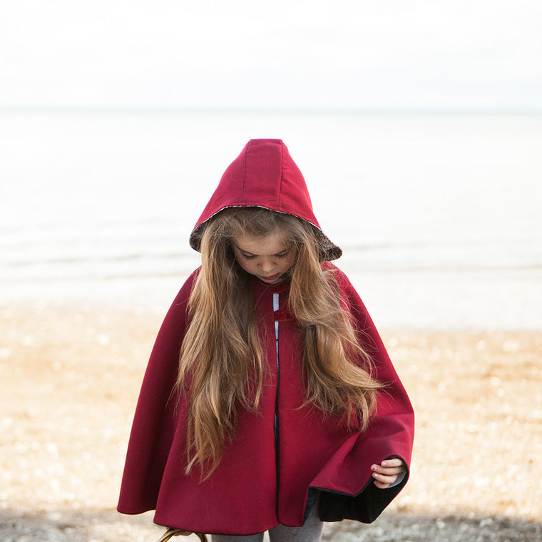Little Red Riding Hood Cape - Twig + Tale  - Digital PDF Download - 1