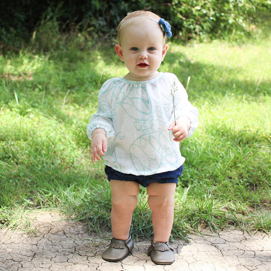 Baby driftwood blouse and dress - Twig and Tale - PDF digital sewing pattern 3