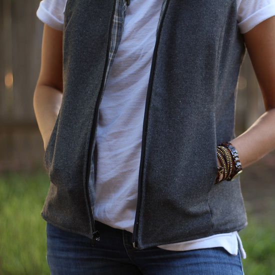 Women's Trailblazer Vest - PDF sewing pattern by Twig + Tale 11