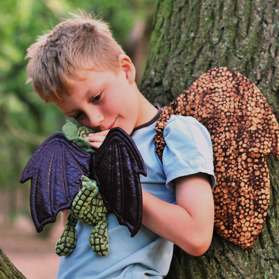 boys - toy Dragon wings pdf sewing pattern by twig + tale