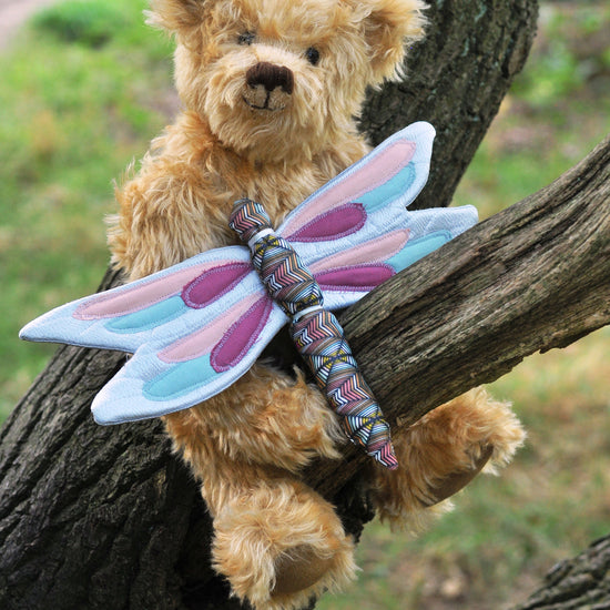 mini Dragonfly play wings sewing pattern by twig + tale