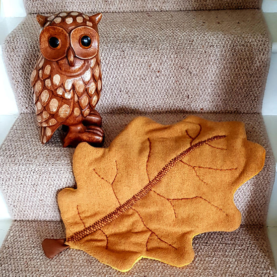 Oak Leaf Blanket digital PDF sewing pattern by Twig + Tale