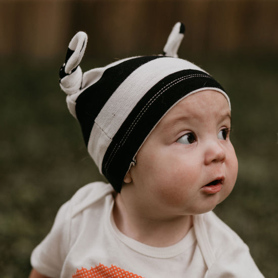 Alpine Baby Knot Hat PDF sewing pattern by Twig + Tale