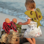 Dragon play wings sewing pattern by twig + tale