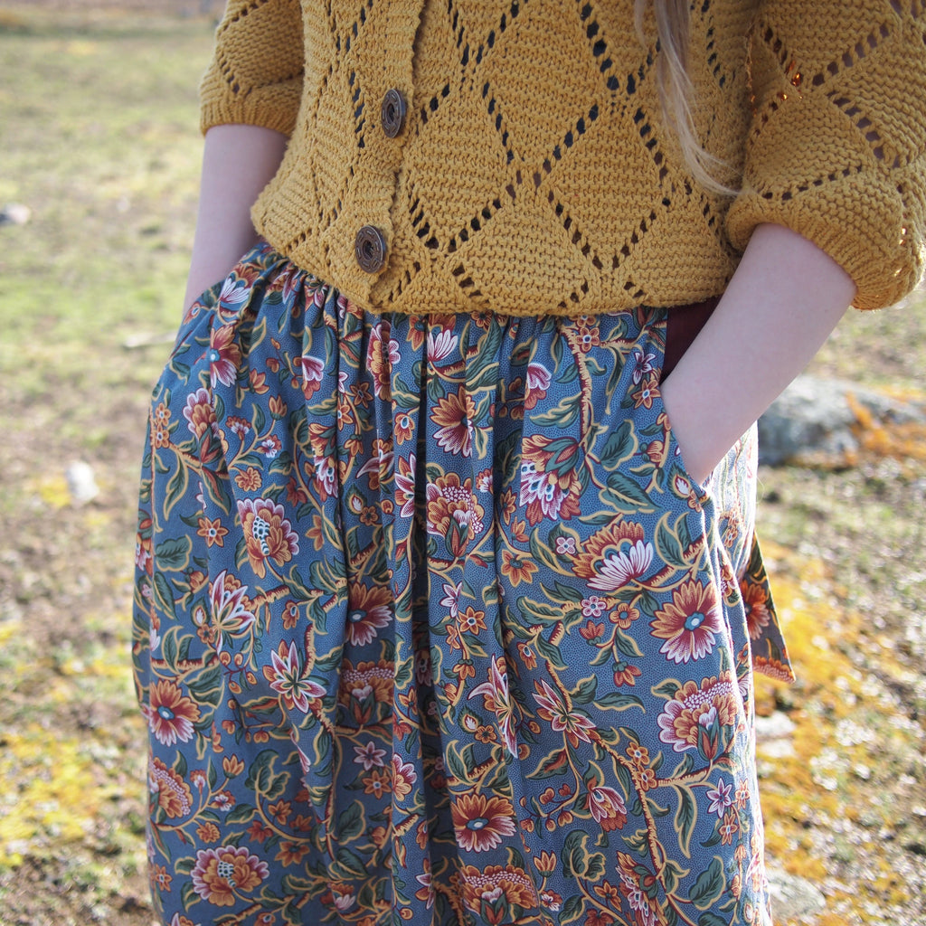 Meadow Skirt - PDF digital sewing pattern by Twig + Tale 18