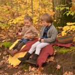 North American Leaf Blanket - pdf sewing pattern from Twig + Tale
