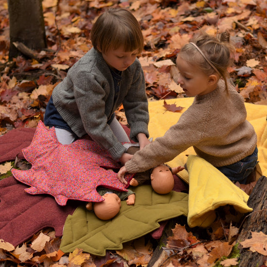 North American Leaf Blanket Bundle - pdf sewing patterns from Twig + Tale