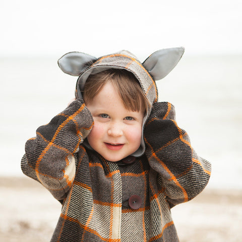 Boys - Animal Coat - Twig + Tale  - Digital PDF sewing pattern - 2