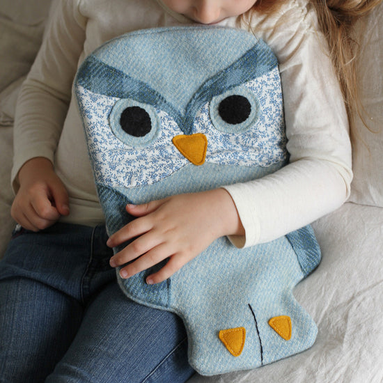 Animal Themed Hot water bottle covers -Twig + Tale - Digital PDF sewing pattern 3