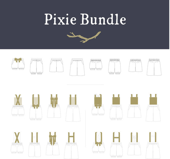 Pixie Essentials - Shorts, Pants, Culottes ~ gender neutral