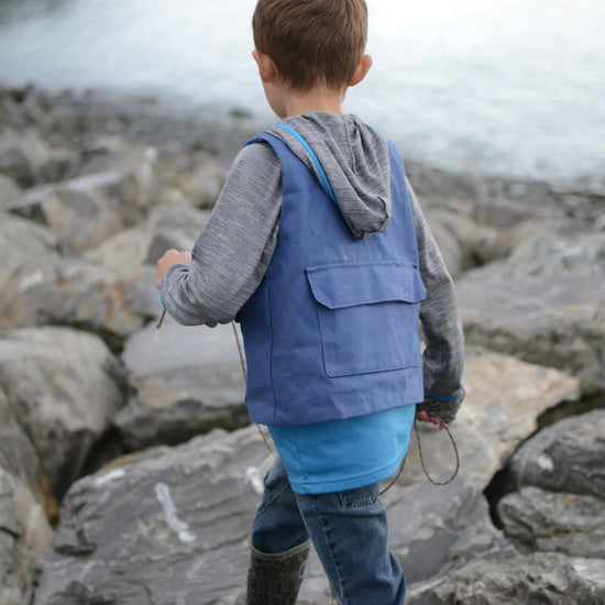 Fisherman's Vest ~ Add-on for Child Trailblazer Vest