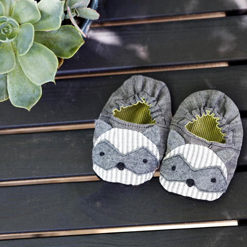 Wild Things Baby Shoes - Twig + Tale  - Digital PDF Download - 2