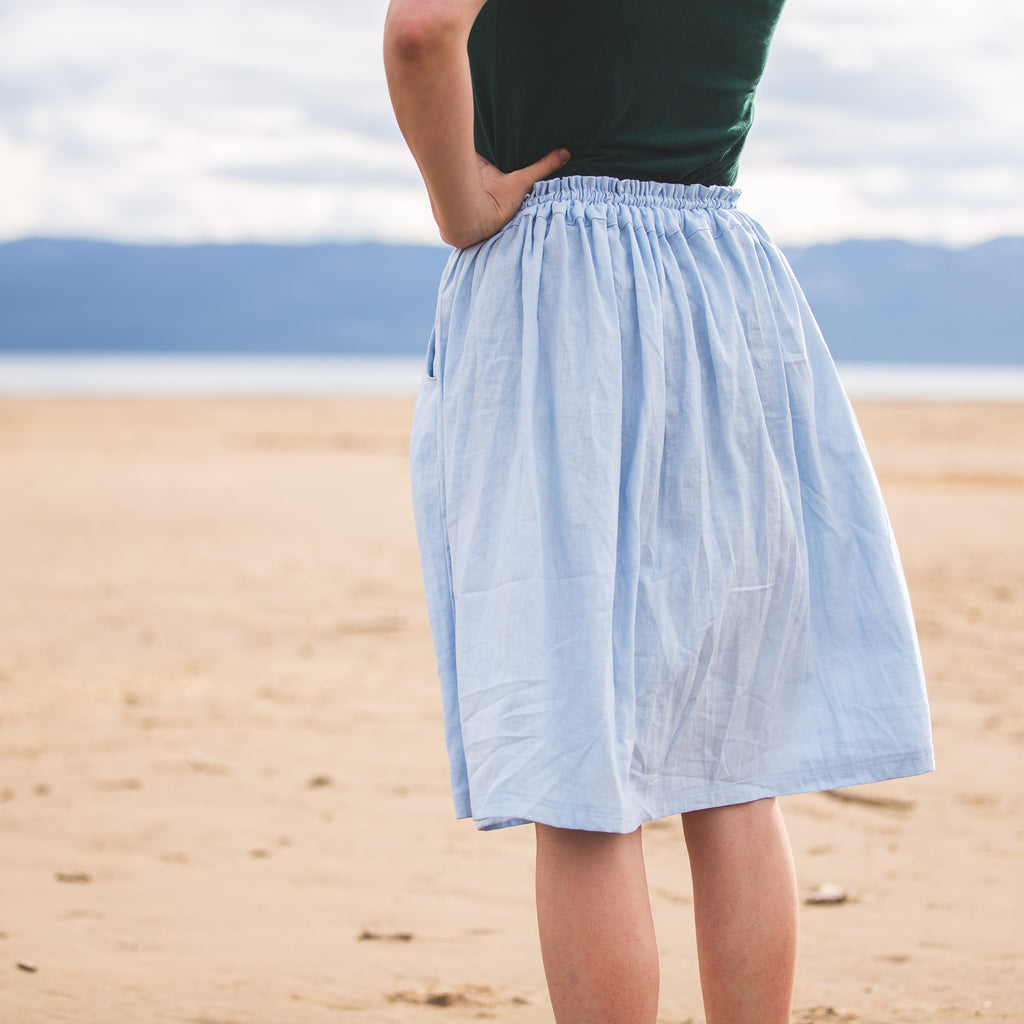 Meadow Skirt - PDF digital sewing pattern by Twig + Tale 3