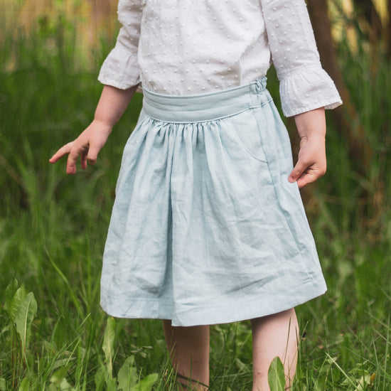 Children Meadow Skirt - PDF digital sewing pattern by Twig + Tale 25