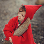 Little Red Riding Pixie Hood - PDF digital sewing pattern by Twig and Tale