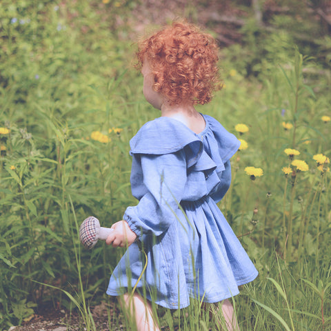 Baby - Dresses + Rompers driftwood blouse and dress - Twig and Tale - PDF digital sewing pattern 12