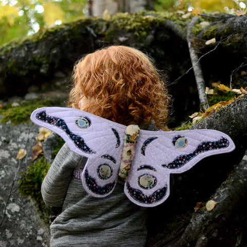 Gum Emperor Butterfly Wings Sewing Pattern - Twig and Tale - PDF digital download 1